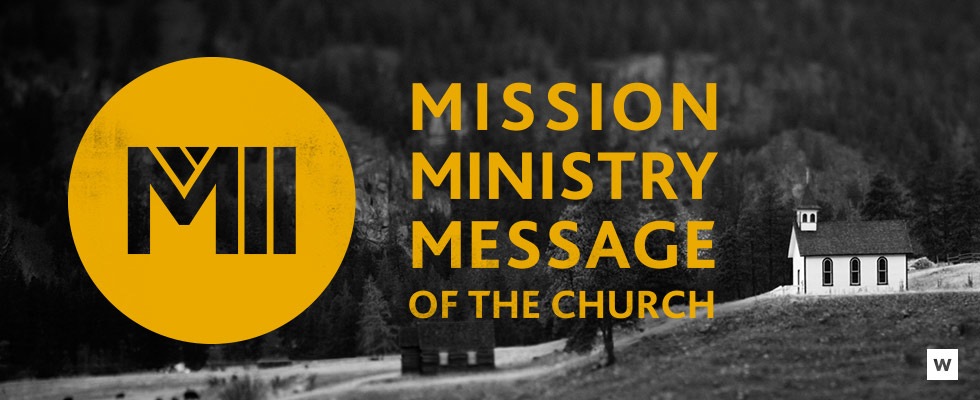 PAGE HEADERS - Message Series - The 3 Ms of the Church