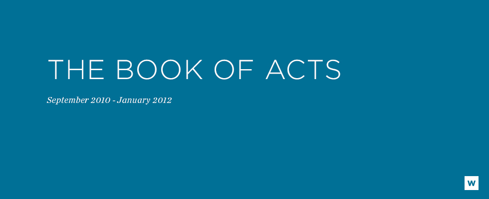 _Sermon Series Banners - The book of Acts