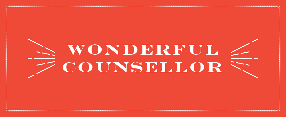 Header Image for Wonderful Counsellor