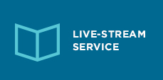 Live-stream Sunday Service Button